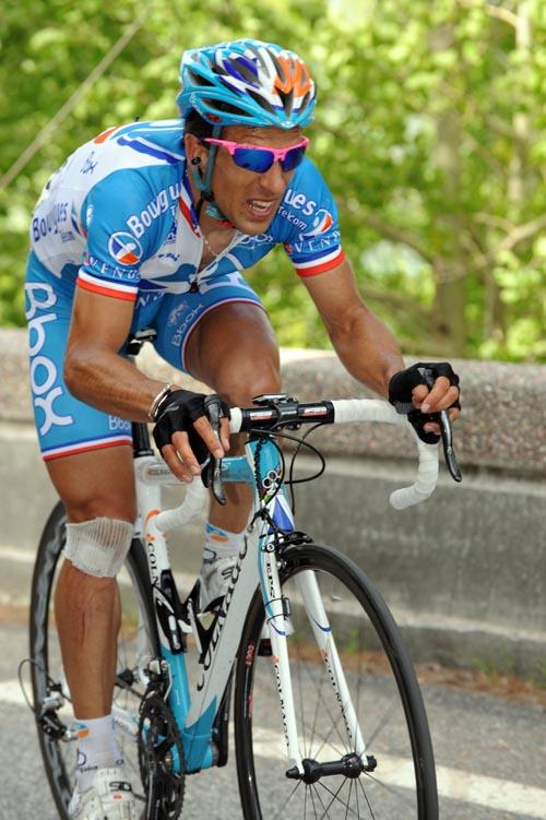 Nicolas Vogondy solo, Criterium du Dauphine 2010, stage 4