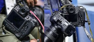 Nikon Z9 spotted at the Olympics –back of the camera revealed