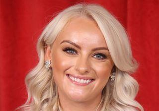 Katie McGlynn, who plays Sinead Tinker in Coronation Street