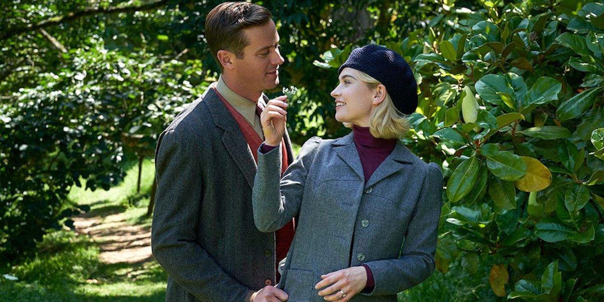 Armie Hammer in Rebecca