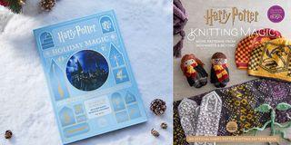 Harry Potter Holiday Magic Advent Calendar and Knitting Magic Book
