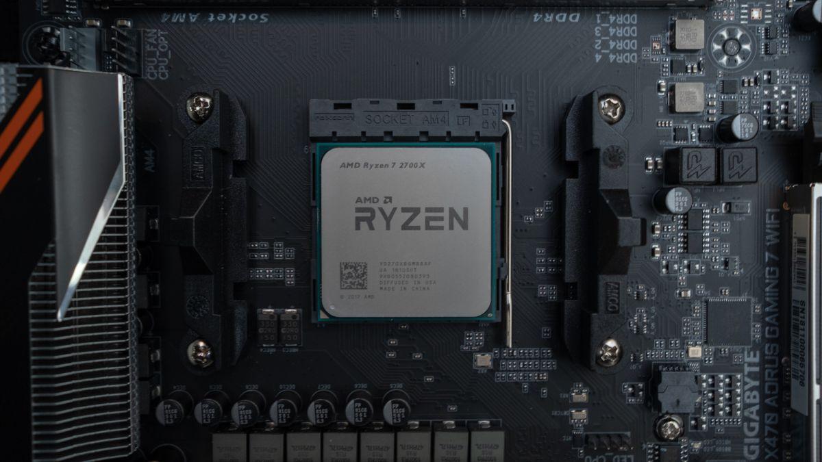 Amd Ryzen 7 2700x Review Techradar