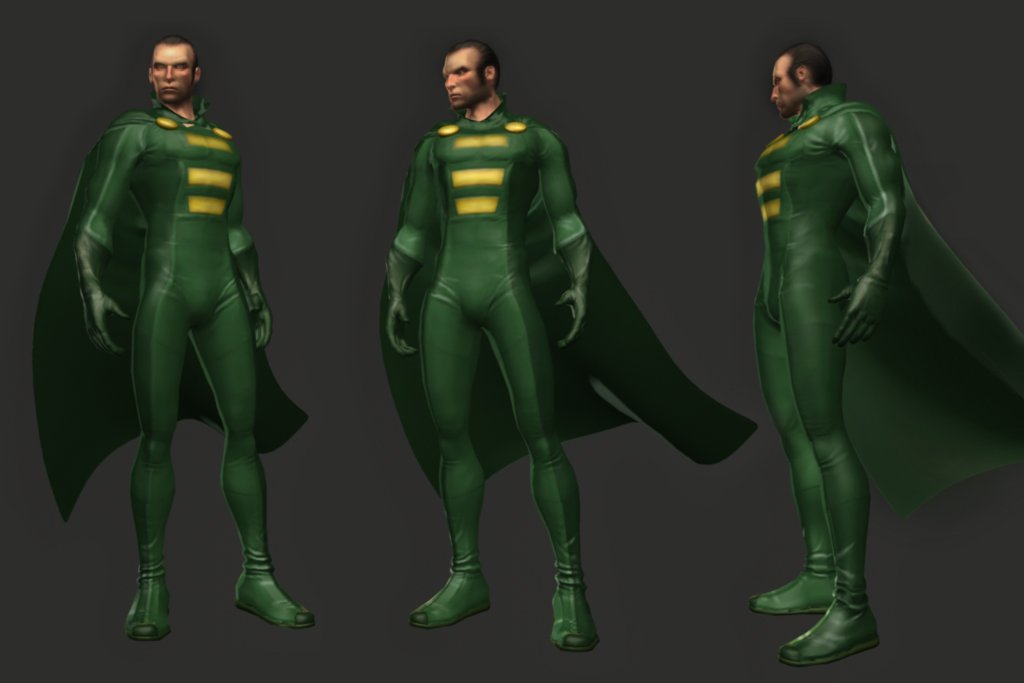 Cancelled The Flash Game Character Models, Screenshots #5814