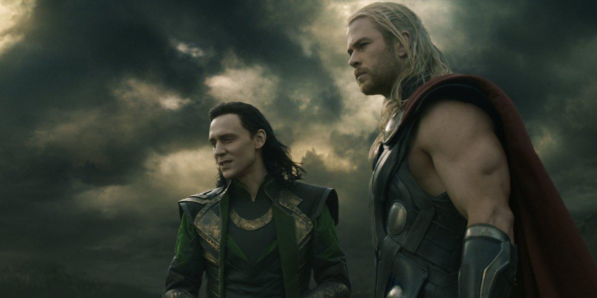 Thor: The Dark World Loki and Thor