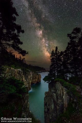 Milky Way from Acadia National Park