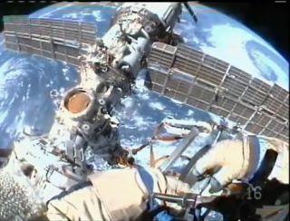 Space Station Crew to Spacewalk Inside Orbital Lab