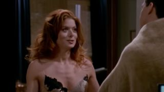Debra Messing as Grace on Will And Grace
