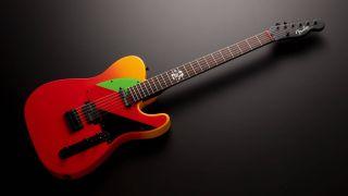 Fender 2020 Evangelion Asuka Telecaster
