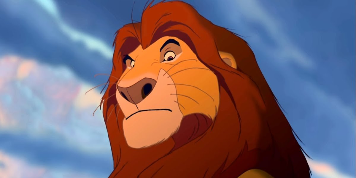 James Earl Jones in The Lion King