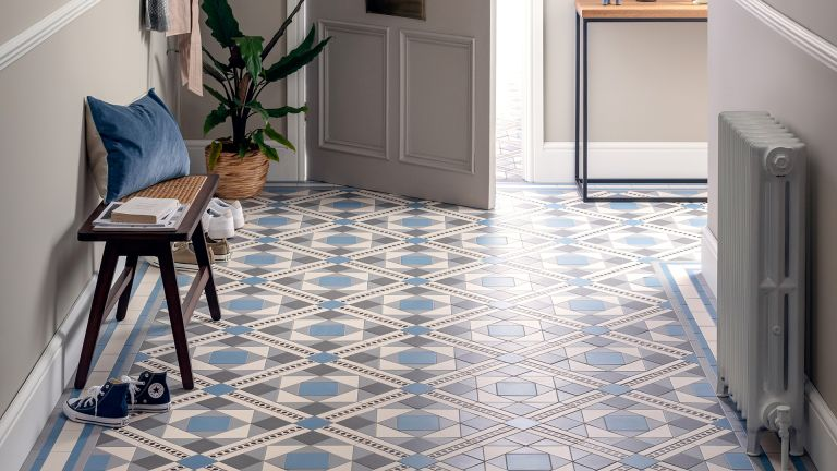 Original Style bespoke Period Living anniversary Victorian floor tile design