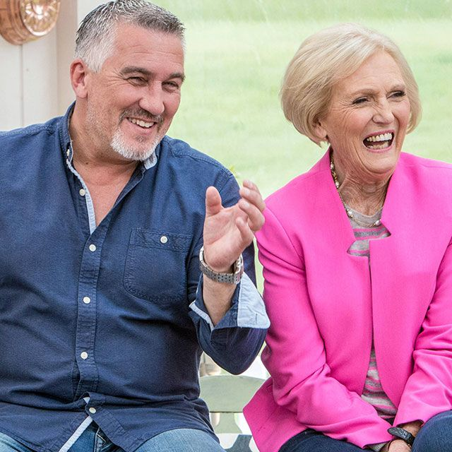 Mary Berry and Paul Great British Bake Off