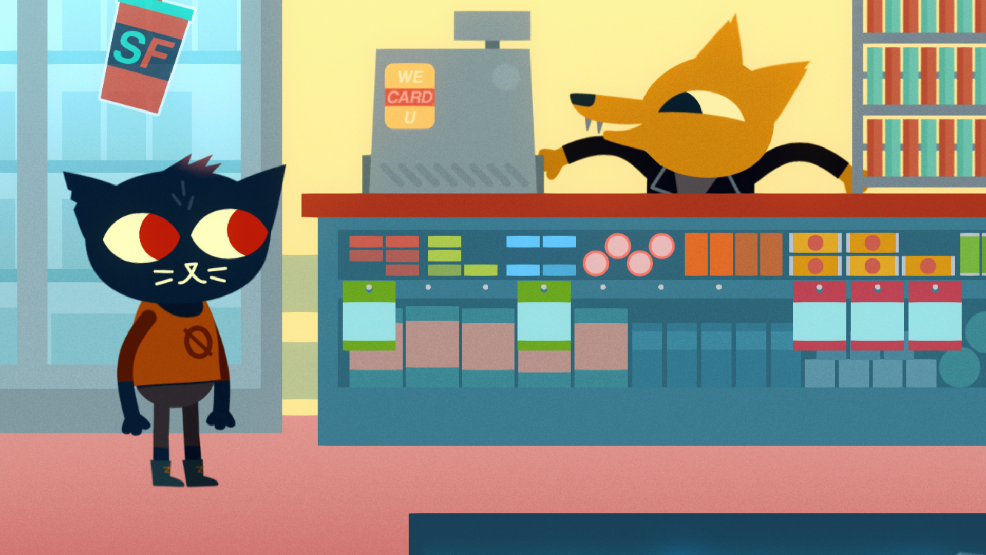 Night In The Woods Review Pc Gamer