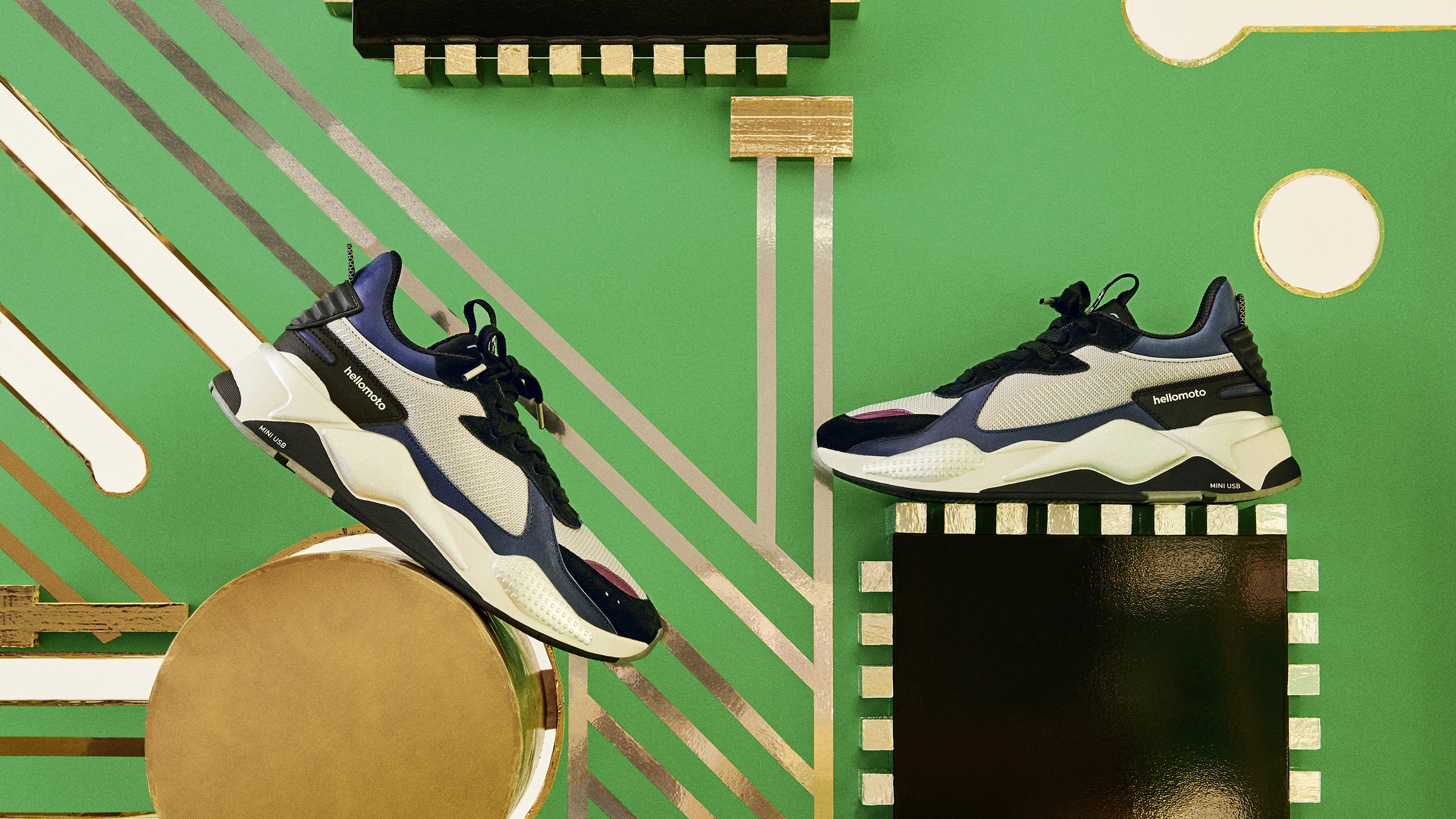 e3080980b9b Puma teams up with Motorola for retro tech-inspired sneaker | T3