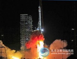 Beidou Satellite Launch September 18, 2012