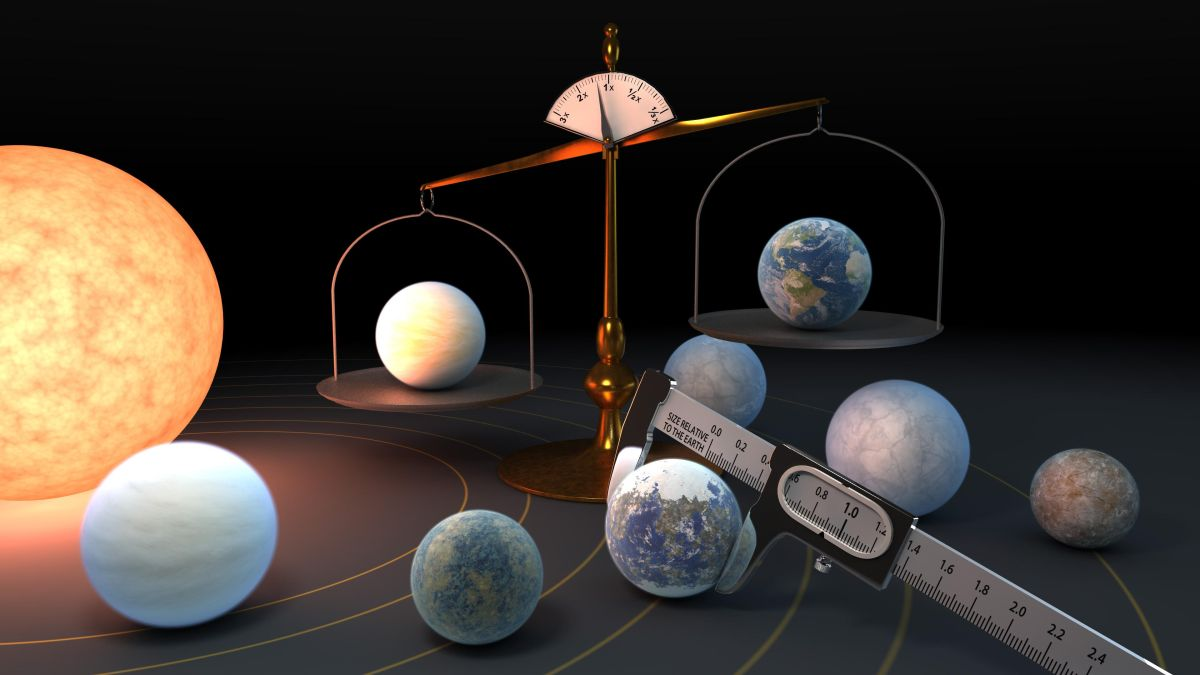 The 7 alien planets orbiting TRAPPIST-1 are like peas in a pod