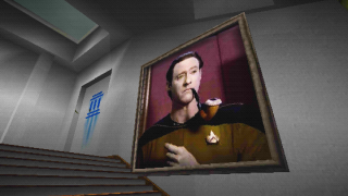 Data smoking a pipe