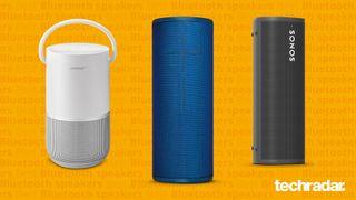 three of the best bluetooth speakers