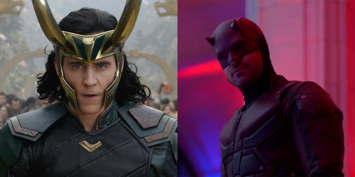 Tom Hiddleston and Charlie Cox Swapped Marvel Characters for Halloween