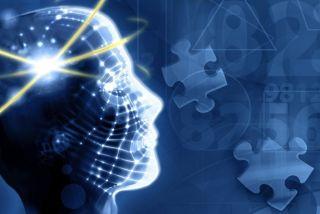 brain illustration suggesting cognitive impairment or dementia.