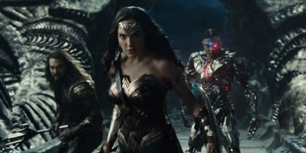 Justice League Wonder Woman Aquaman Cyborg