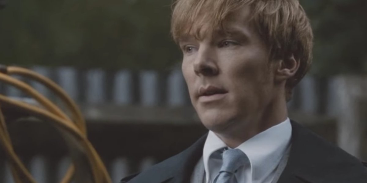Benedict Cumberbatch following the paper trail in Tinker Tailor Soldier Spy