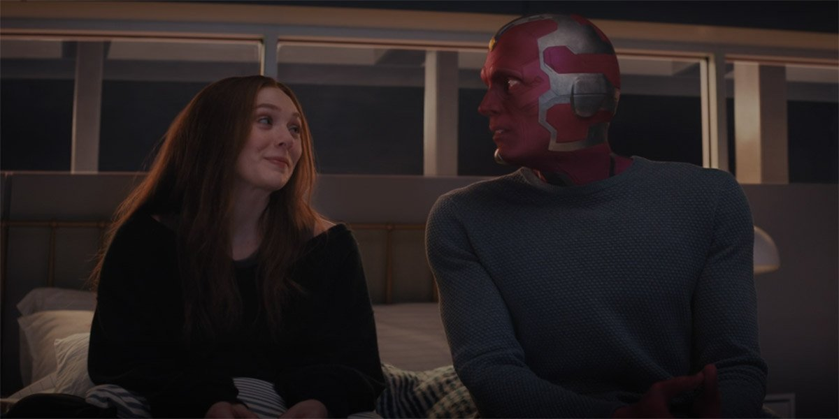 WandaVision Just Revealed A Huge Secret About Scarlet Witch, And A Big Vision Twist