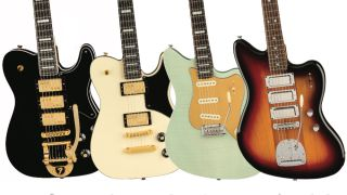 Embrace the weird as Fender's Joey Brasler walks us through the company's range of surreal hybrid electrics.