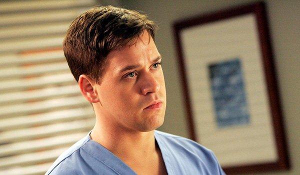 T.R. Knight as Dr. George O'Malley on Grey's Anatomy