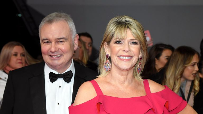 Ruth Langsford and Eamonn Holmes attend the National Television Awards 2020 at The O2 Arena on January 28, 2020 in London, England