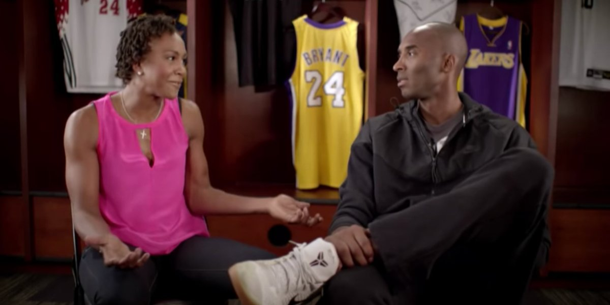 Tamika Catchings and Kobe Bryant in Italian Imports