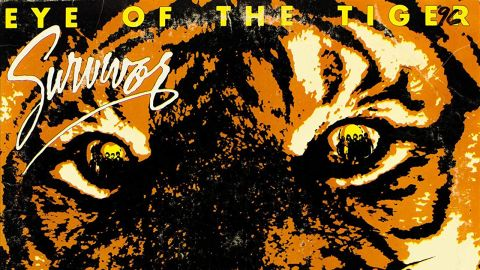 Survivor eye of the tiger cover art