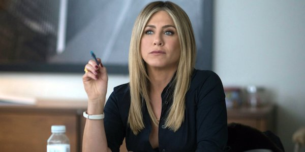 Jennifer Aniston annoyed in Office Christmas Party