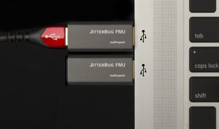 AudioQuest JitterBug FMJ aims to exterminate unwanted noise