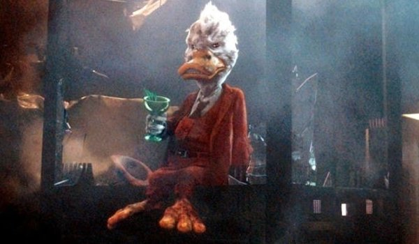 Guardians of the Galaxy Howard The Duck having a drink