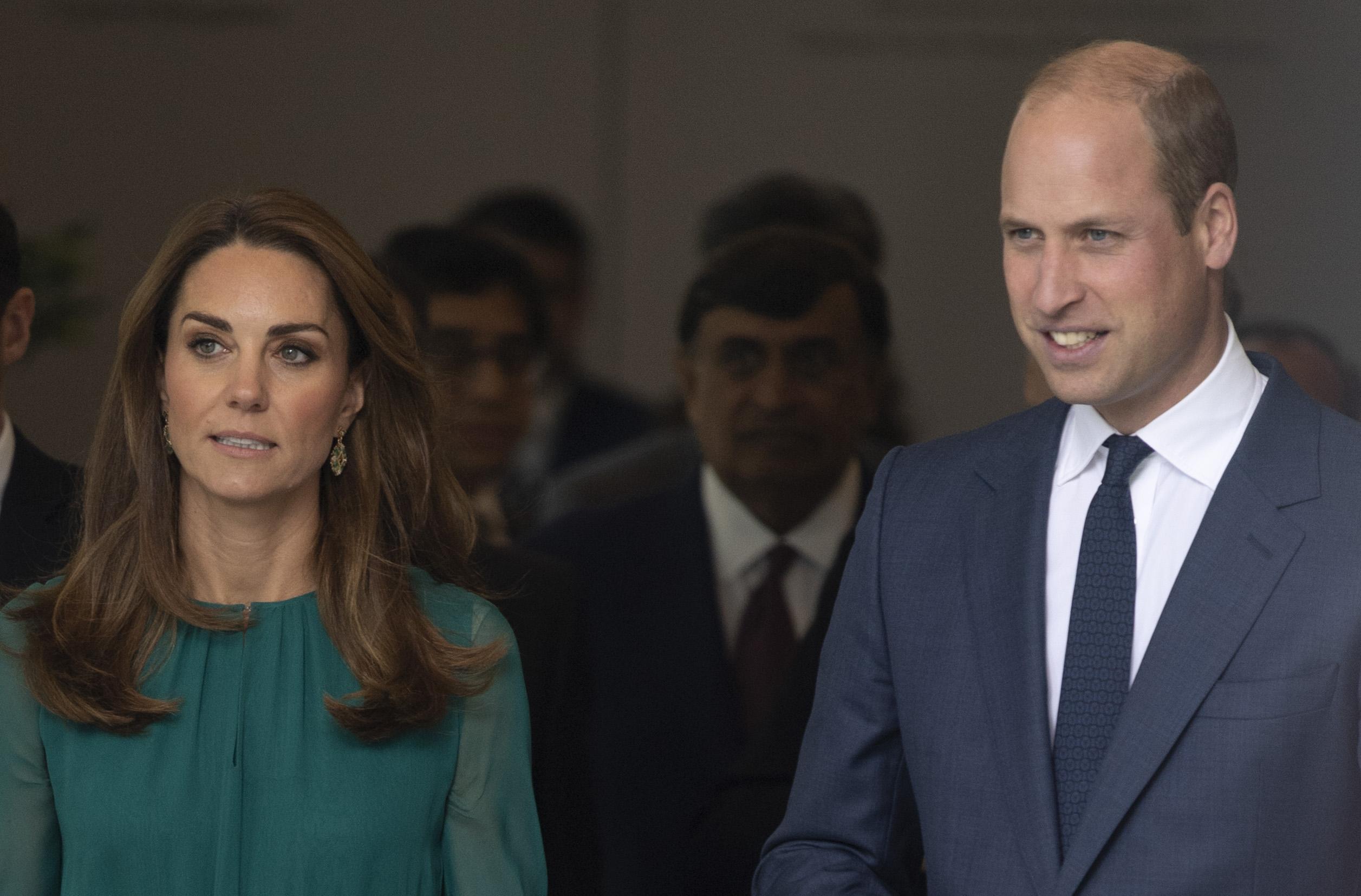 Kensington Palace reveals Duke and Duchess of Cambridge's Pakistan royal tour details are being kept secret over security concerns