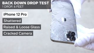 iPhone 12 drop test results