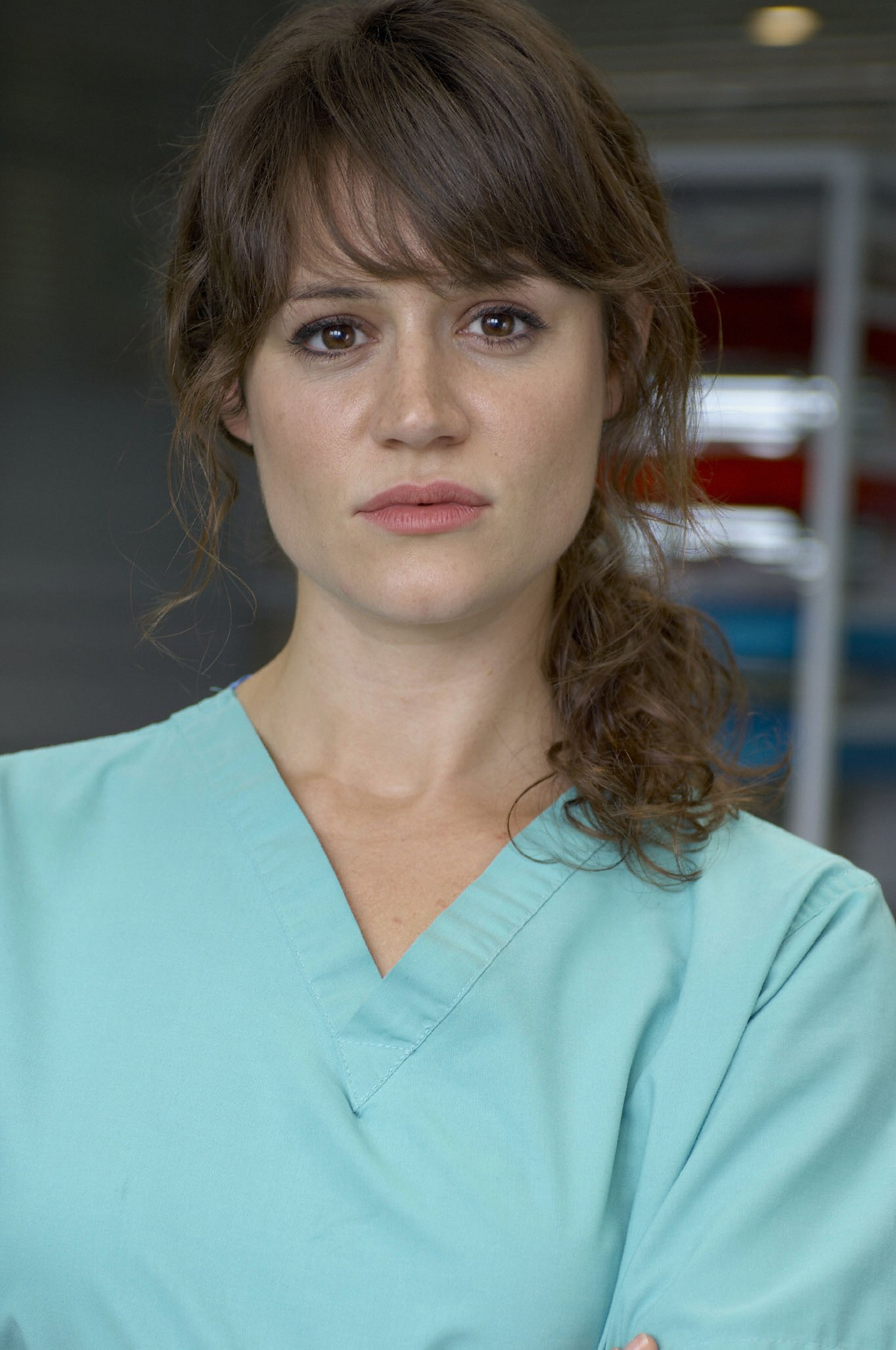 Holby's Nadine on Maddy's attack (VIDEO)