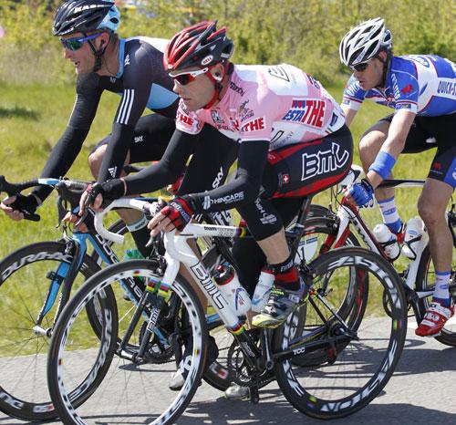 Cadel Evans, Giro d'Italia 2010, stage 3