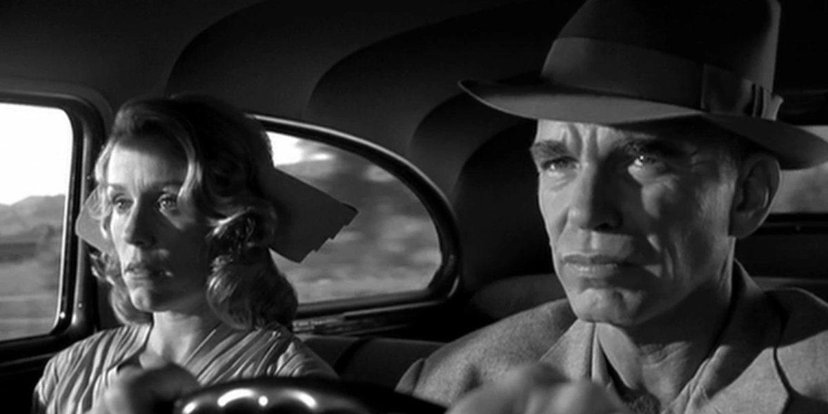 Frances McDormand and Billy Bob Thornton in The Man Who Wasn't There