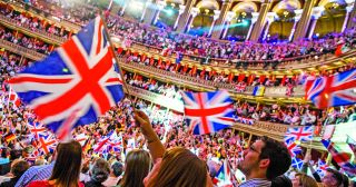 The Proms audience aims to raise the roof of the Albert Hall on the Last Night