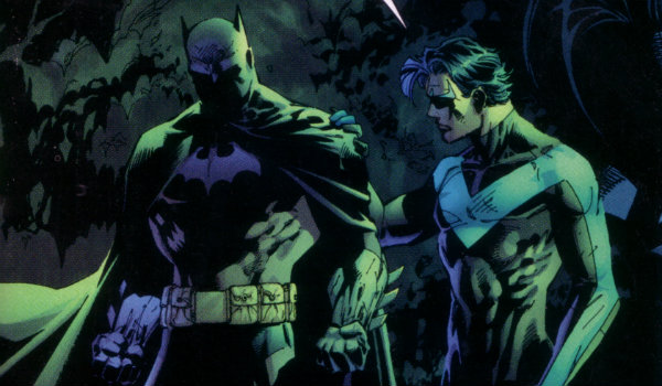 Batman Nightwing DCEU