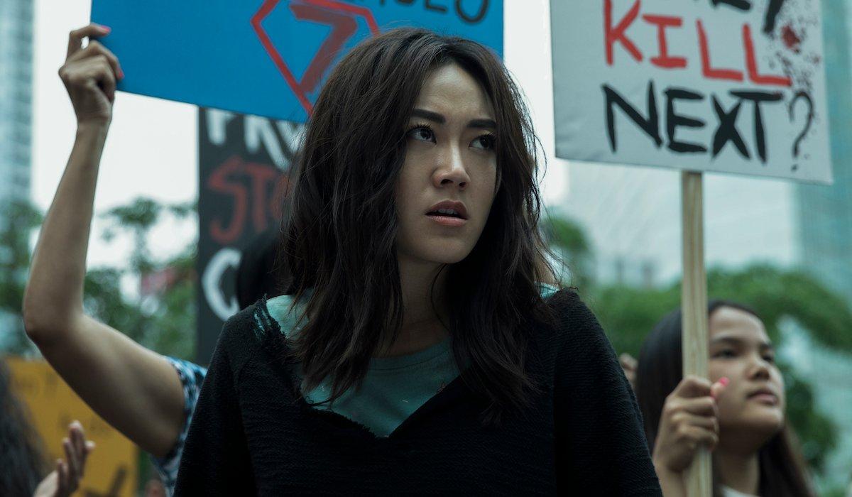 the boys season 2 kimiko at a protest