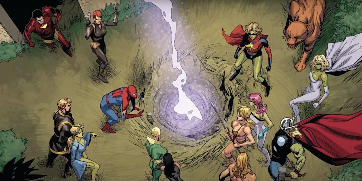 Skrulls are revealed in Secret Invasion