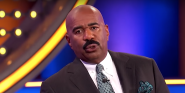 Watching Steve Harvey Trim His Signature Mustache Is Riveting