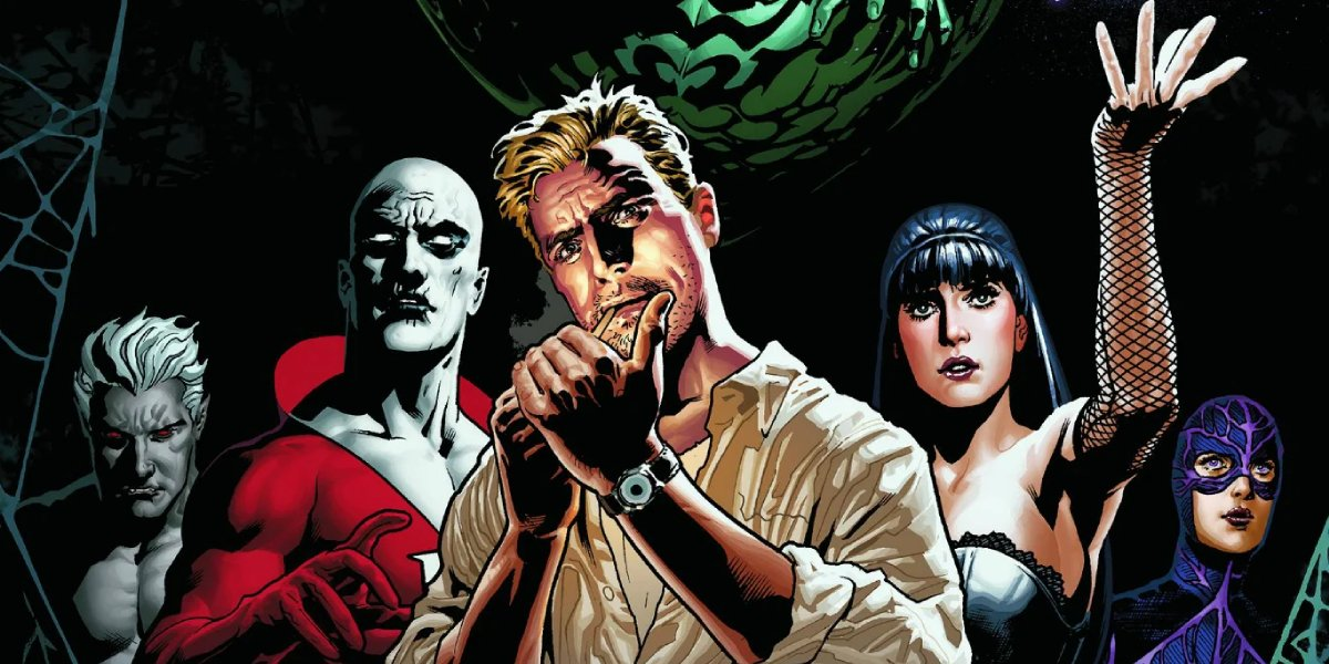 One of the many lineups variations of Justice League Dark