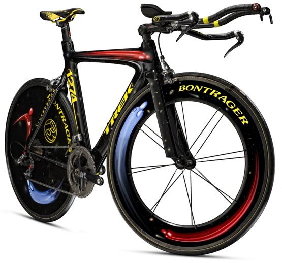 Lance Armstrong 2009 Giro d Italia bikes