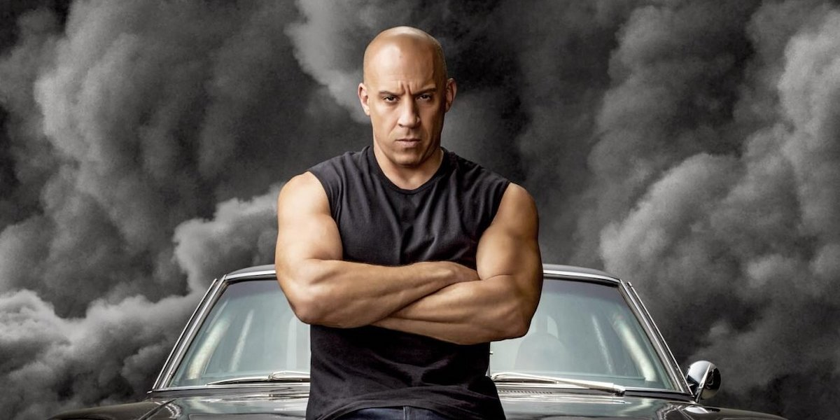 Vin Diesel's Dominic Toretto on F9 poster