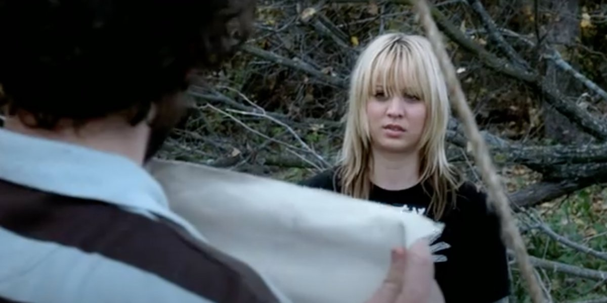 Silas Weir Mitchell and Kaley Cuoco on Prison Break
