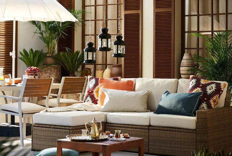 Patio ideas: Ikea Solleron 3-seater sofa