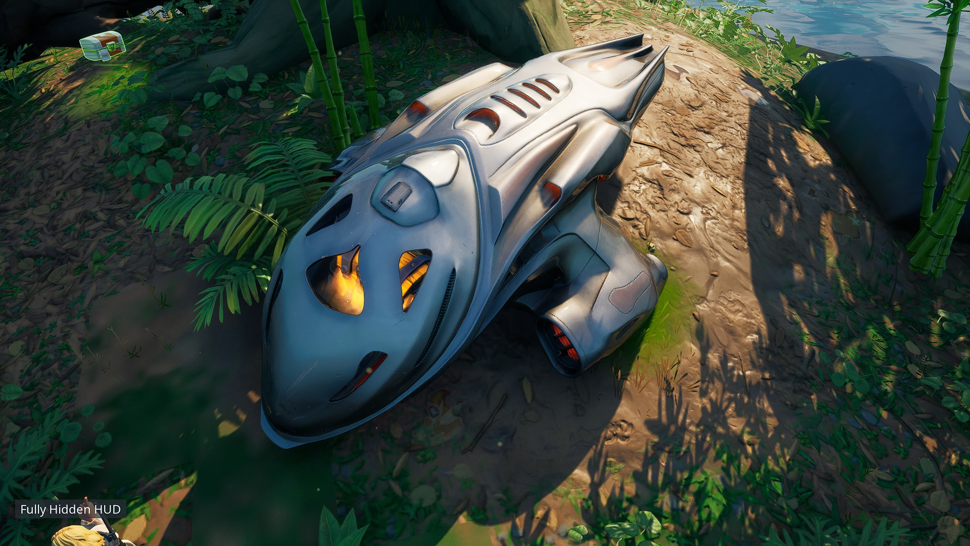 Where to find the mysterious pod in Fortnite